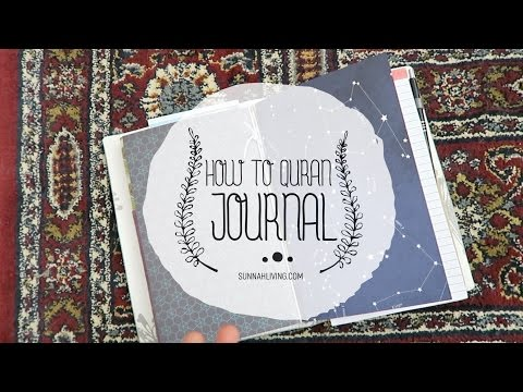 How to Quran Journal | Sunnah Living