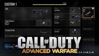Advanced Warfare - Pick 13 Créer une Configuration de Classe! (Call of Duty AW Gameplay)