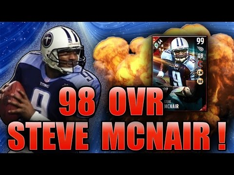 DO I KEEP VICK OR MCNAIR?! (98 STEVE MCNAIR GAMEPLAY) - MADDEN NFL 17 ULTIMATE TEAM