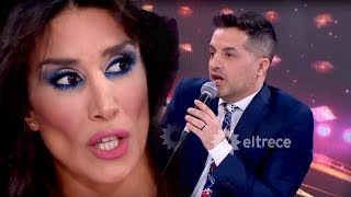 ¡Fuerte cruce entre De Brito y Marcasoli por Laurita Fernández!