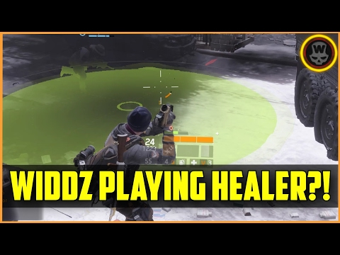 The Division - widdz as healer?! Last Stand gameplay