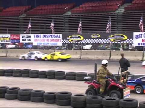 2013/2014 Midwest Indoor Racing Series - Arena Mini Cups Feature At Kellogg Arena - (January 11th)