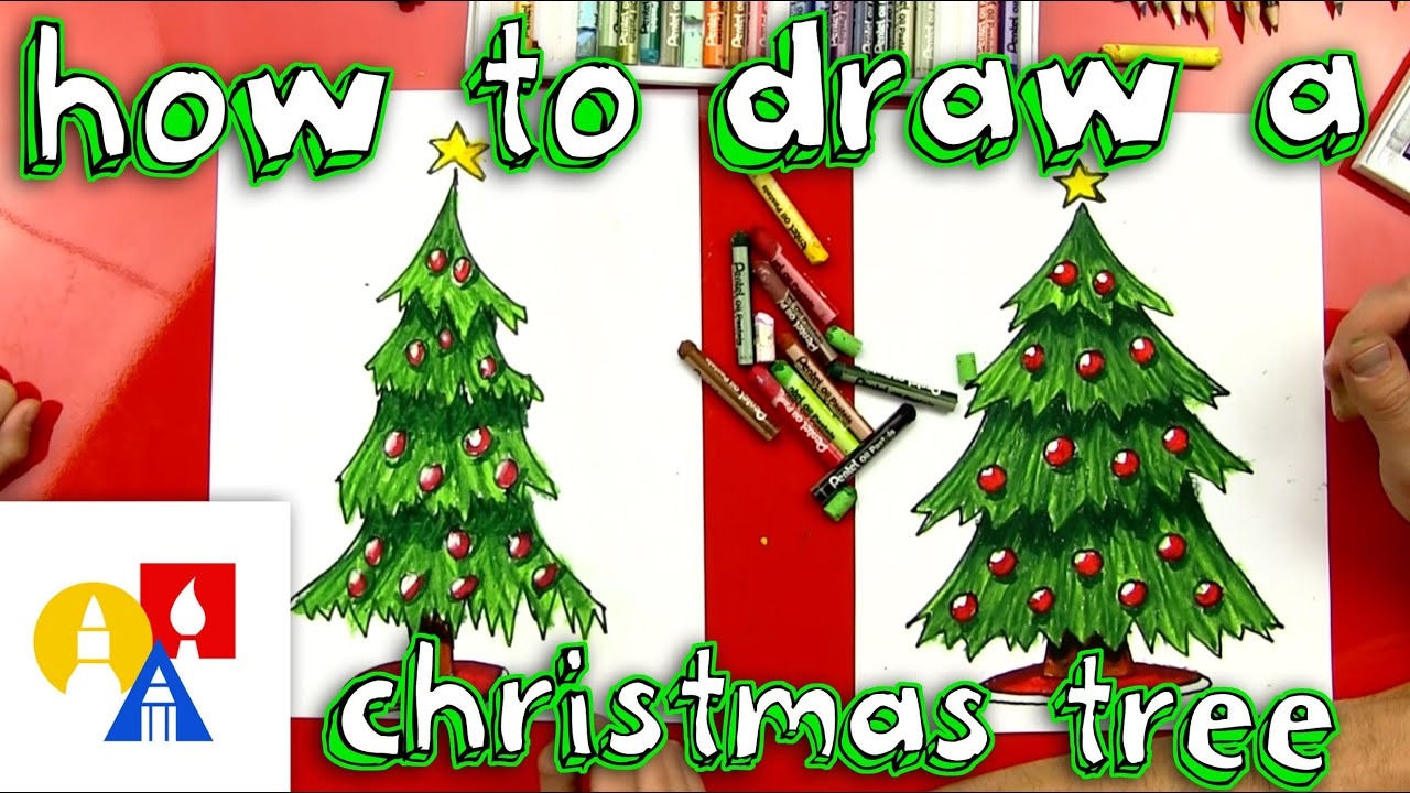how to draw a christmas tree - What Is A Christmas Tree