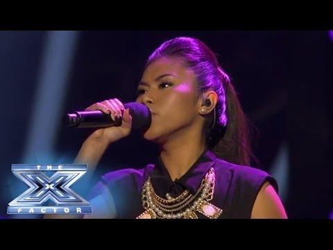 "Ellona Santiago is ""Titanium"" - THE X FACTOR USA 2013"