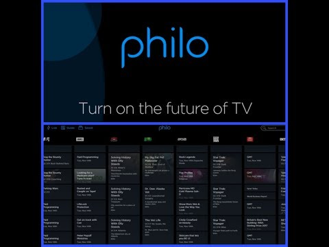 PHILO - $16 LIVE TV STREAMING SERVICE REVIEW!!!