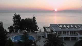 RISING SUN OVER THE MOUNTAIN ATHOS