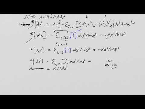What is a Tensor? Lesson 35: Elementary Hodge Dual Calculations
