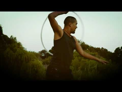 South African Male Hula Hooper Performer PART ONE - Daniel Bailey