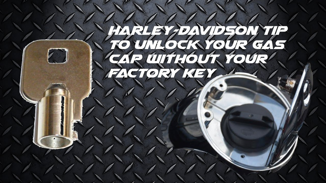Motorcycle Tip Harley Davidson Locking Gas Cap Tip If You