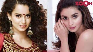 Alia Bhatt's SUBTLE reply to Kangana Ranaut's 'mediocre' comment | Bollywood News