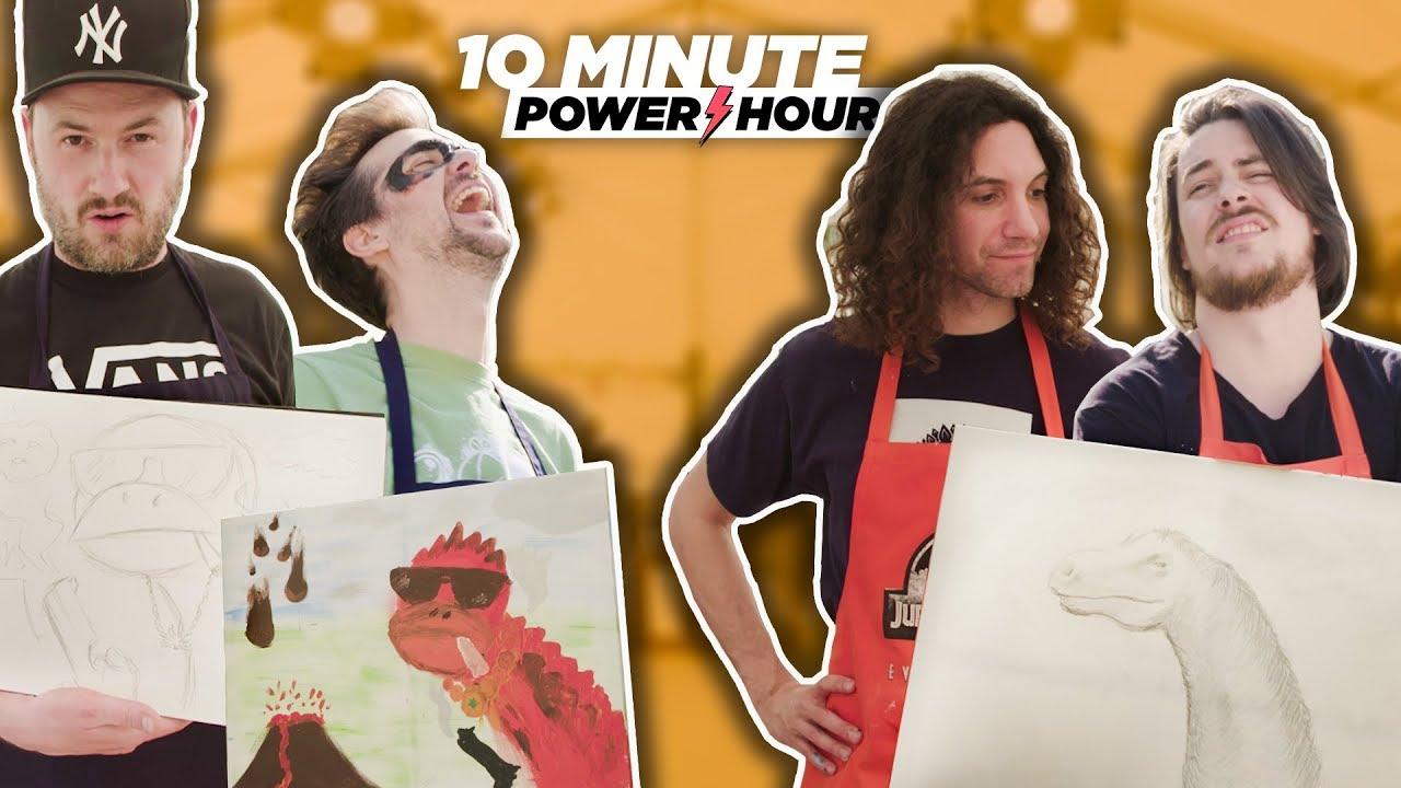 Jurassic Make Off Part 3 (Sponsored Episode Ft. Yogscast) – 10 Minute Power Hour
