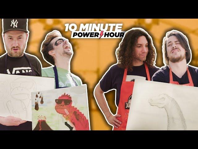 Jurassic Make Off Part 3 (Sponsored Episode Ft. Yogscast) - 10 Minute Power Hour