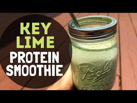 Key Lime Protein Smoothie