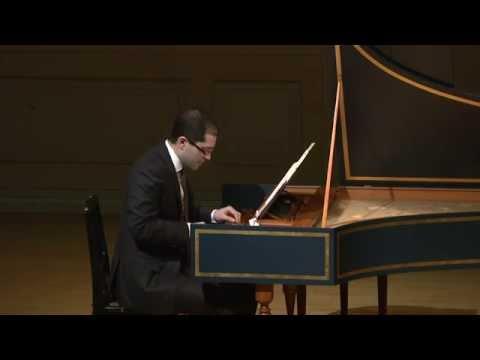 Mahan Esfahani: Harpsichord Concert - J. Kuhnau, JS Bach, CPE Bach, B. Martinů (2014, HD 1080p)