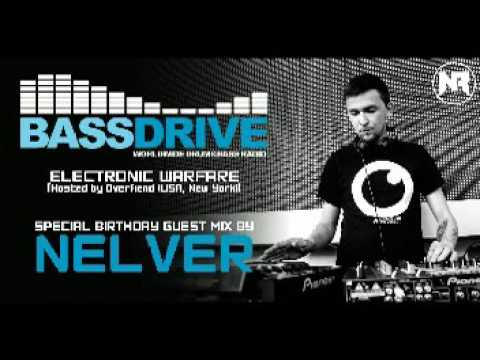 """BASSDRIVE RADIO (USA) - SPECIAL BIRTHDAY GUEST MIX BY NELVER @ """"ELECTRONIC WARFARE"""" (03.09.2016)"""