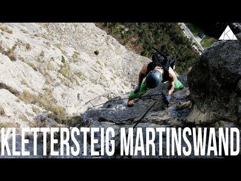 Klettersteig Decin : Klettersteig martinswand Видео с youtube на компьютер мобильный