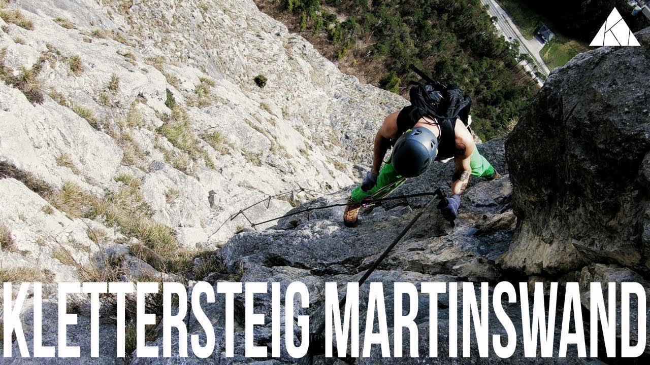 Klettersteig English : Klettersteig martinswand youtube
