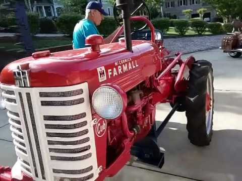 FOR SALE FARMALL CUB TRACTOR WITH SICKLE BAR
