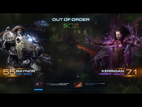 """""""Solo"""" 15th Co-op Mutation """"Out of Order"""" on Brutal: Raynor + Kerrigan"""