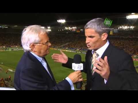 WC06 Australia vs Croatia - Emotional Craig Foster on SBS post-game