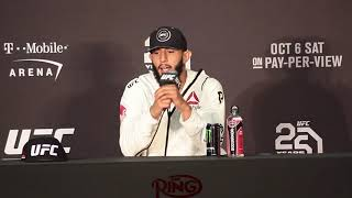 THE FULL DOMINICK REYES UFC 229 POST FIGHT PRESS CONFERENCE