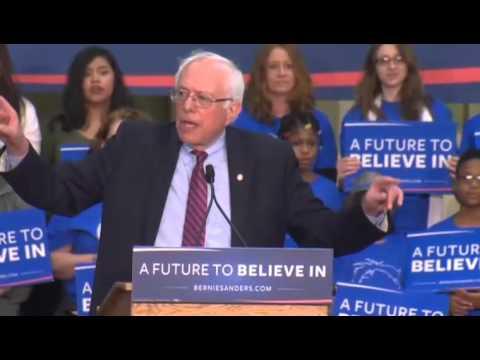 Bernie Sanders Vancouver Rally