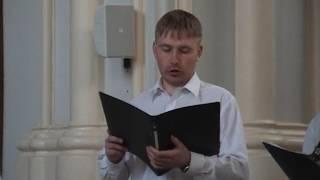 29 апреля 2006 год. Костёл С.Дыченко солирует Let my people go