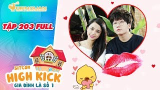 Gia đình là số 1 sitcom | tập 203 full: Đức Minh trao cho Yumi nụ hôn sau những ngày xa nhau