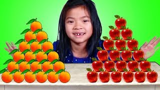 Download Emma Apples vs Oranges Pretend Play Mp3 and Videos