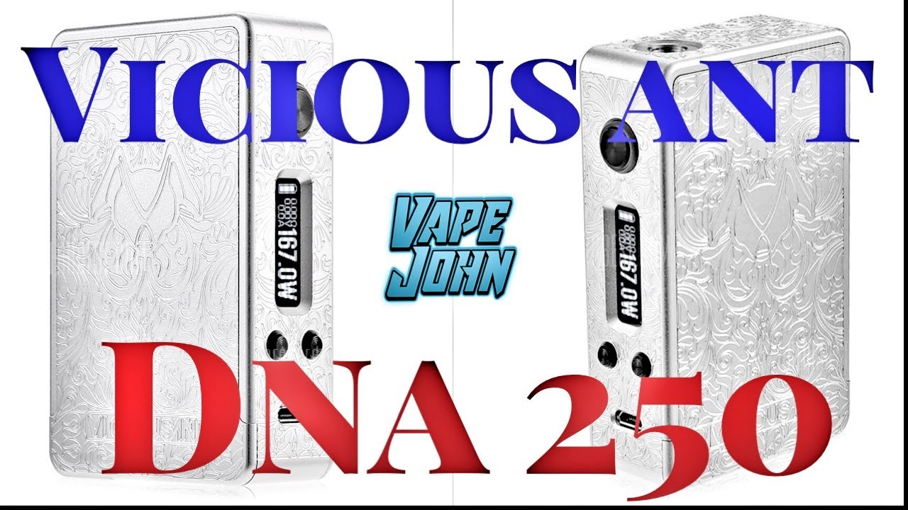 Daily Vaper: ViciousAnt DNA 167 Mod Review | The Daily Caller