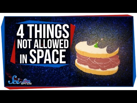 4 Things You're Not Allowed to Do in Space