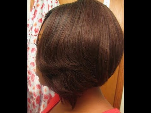 Short Bob Wig w/ Out're Duby Velvet Remi hair | Doovi
