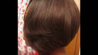 Invisible Part Bob Hairstyles