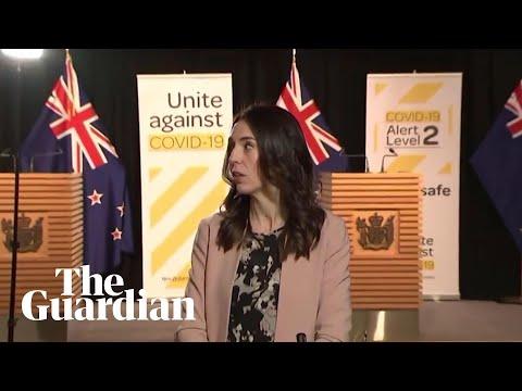 New Zealand PM Jacinda Ardern&39;s  TV  interrupted by magnitude-58 eartuake