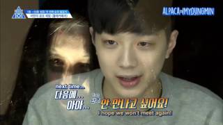[ENG] Produce 101 Season 2 EP 5   Ghost Hidden Camera Part 2