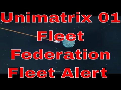 Unimatrix One Fleet - Federation Fleet Alert - Star Trek Online