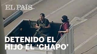 Detienen al HIJO DEL 'CHAPO' en Culiacán
