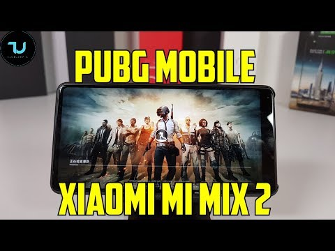 Xiaomi Mi Mix 2 PUBG Mobile Gameplay/Snapdragon 835 High settings/Official Video 2018