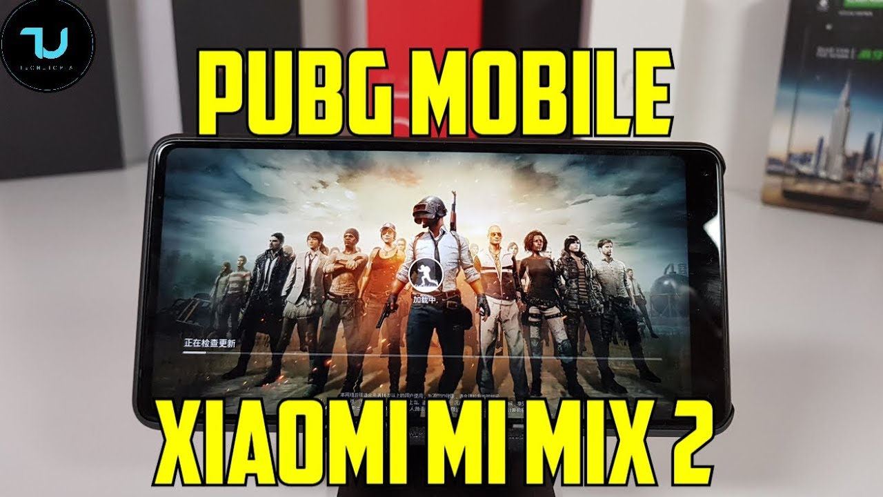 Official Pubg Mobile Gameplay: Xiaomi Mi Mix 2 PUBG Mobile Gameplay/Snapdragon 835 High