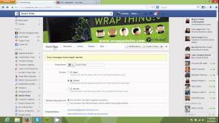 Facebook Grubu Oluşturma ve Sayfa Gibi