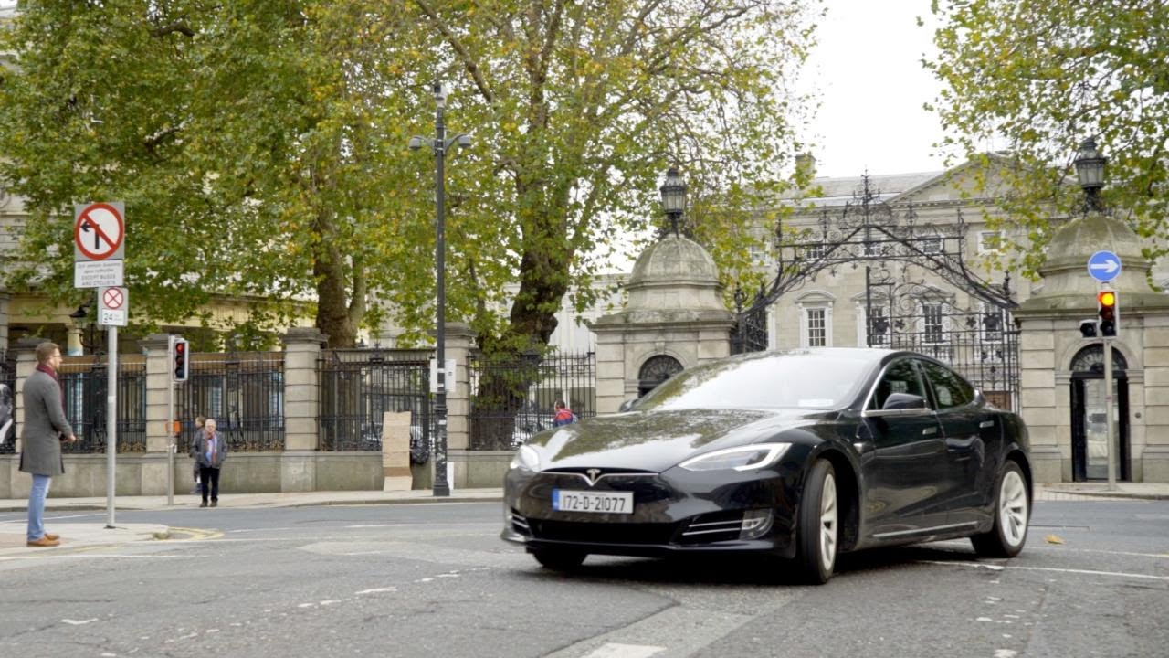 Review How Does The Electric Tesla Model S Fare In Ireland Youtube