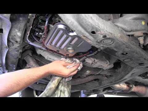 Toyota Highlander Automatic Transmission fluid and filter change