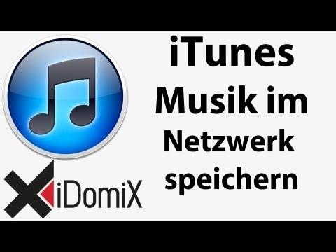 ITunes Musik Im Netzwerk Speichern Und Teilen