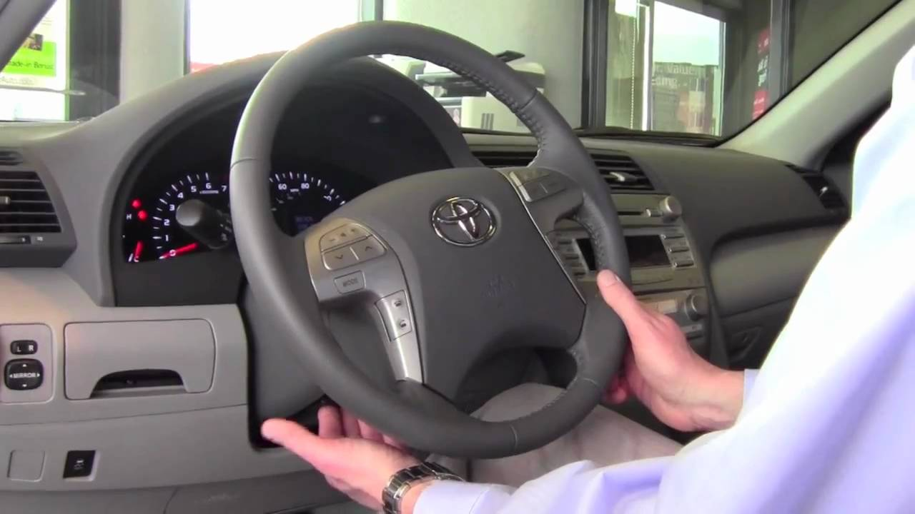 2017 Toyota Camry Tilt Steering Wheel How To By City Minneapolis Mn