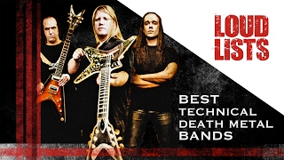 10 Greatest Technical Death Metal Bands