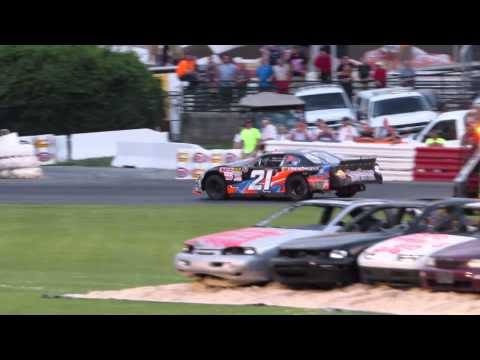 Bowman Gray Stadium 7-18-15 Taylor Branch And Tommy Neal