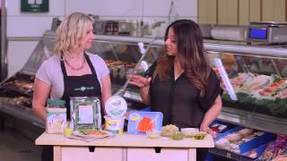 Save-on-foods Fresh Solutions -  Pesto Salmon With Spinach, Chickpea And Quinoa Salad
