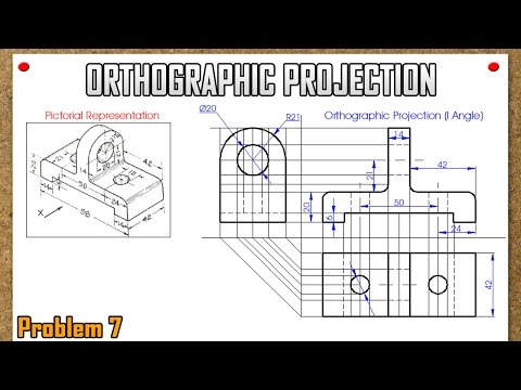 Orthographic Projection_Problem 7