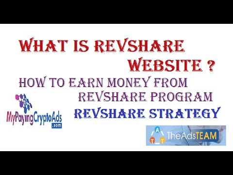 What is Revshare Websites | How to Earn Money From Revshare Program | Trusted Revenue Share Websites