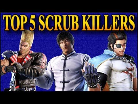 Tekken 7 TOP 5 Ultimate Scrubkillers & How To Beat Them